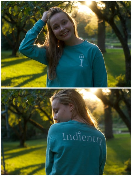 Image of Teal Indientry T-Shirt