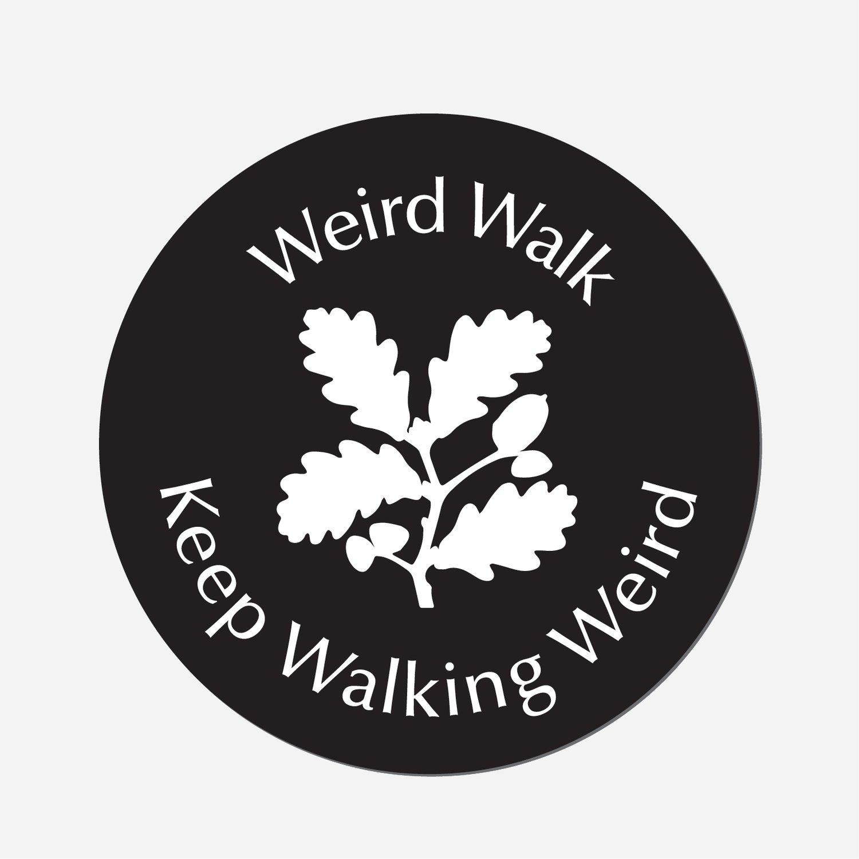 Image of Weird Walk Car Stickers