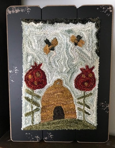 Honey Hill Farm- The Hive Punch Needle Pattern.
