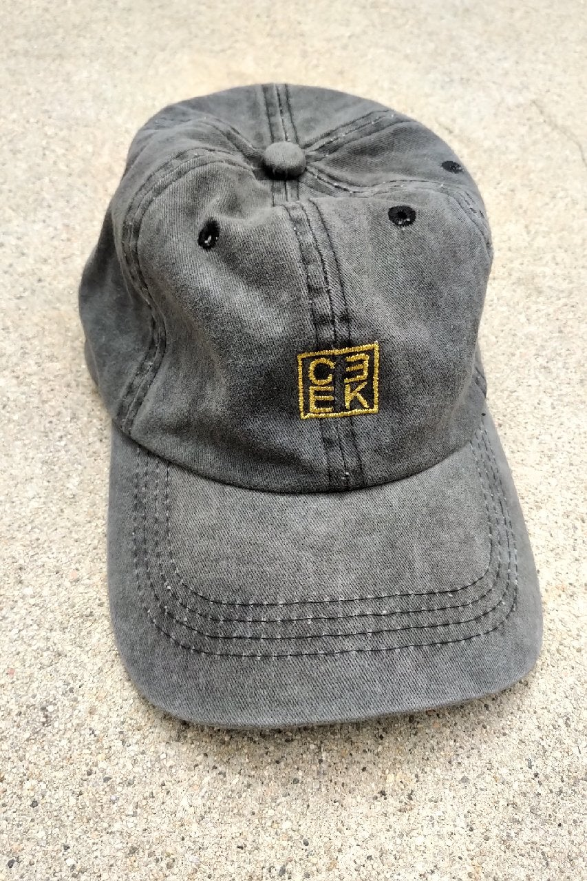 Image of CEEK Washed Grey Dad Hat