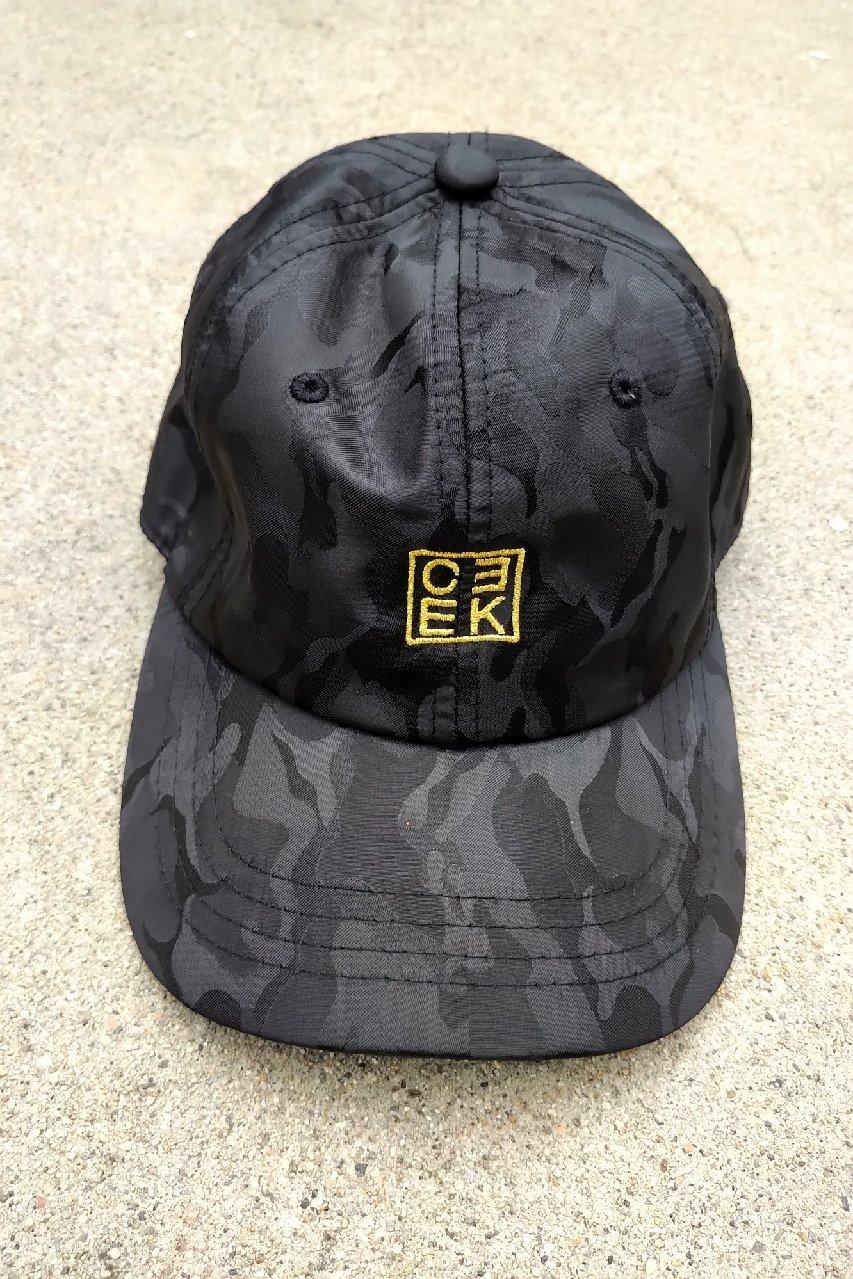 Image of CEEK Slick Black Camo Dad Hat
