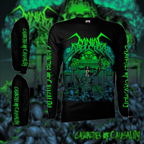 Image of Maniac Abductor Casualties Of Causality Longsleeve