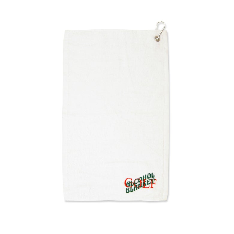 Image of Golf Towel White