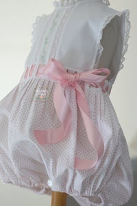 Image of Ready-To-Ship Heirloom Primrose Sunsuit