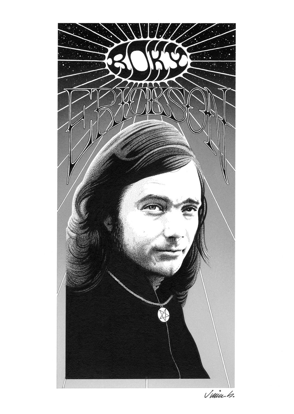 Image of ROKY ERICKSON poster print