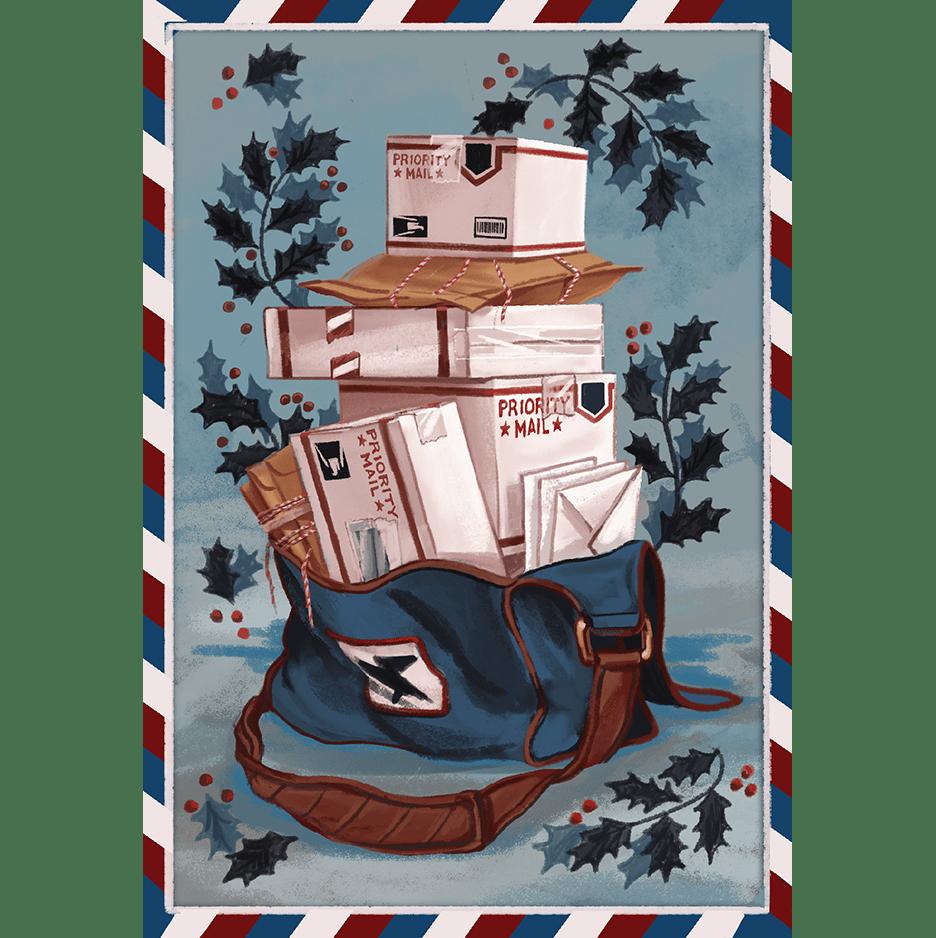 Image of Parcel Pack Postcard—Pack of 75