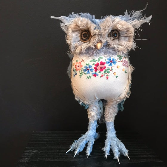 Image of Textile Owl Sculpture - Two Day Workshop - 31st August - 1st September 2019