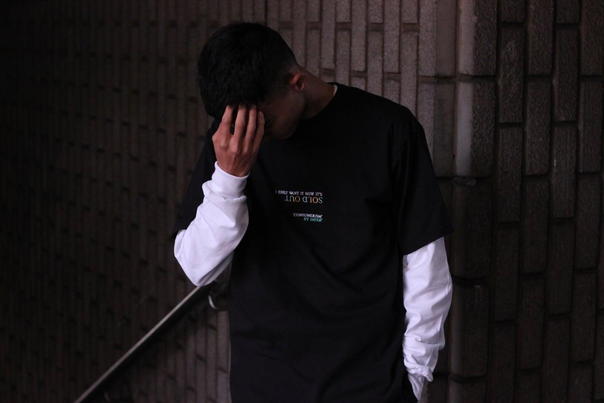 Image of 'Consumerism' T-Shirt Black