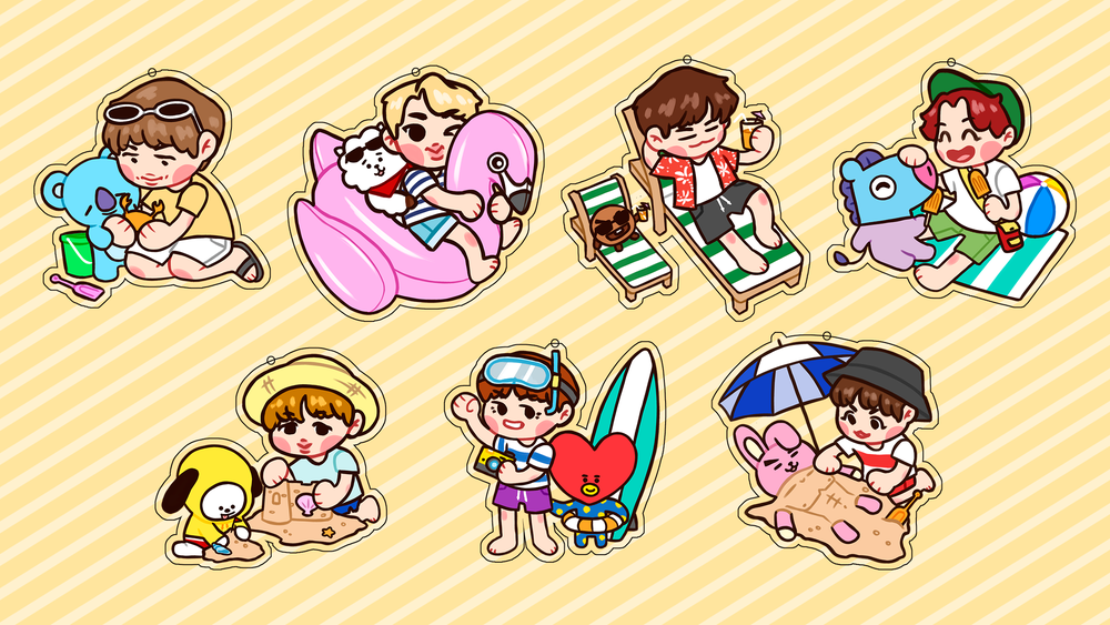 BTS Summer Charms