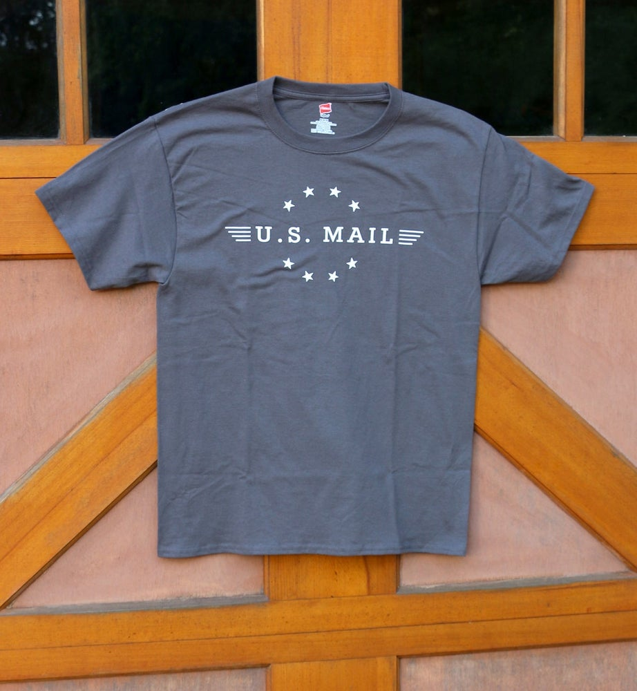 Image of U.S. Mail Tee - Smoke Grey