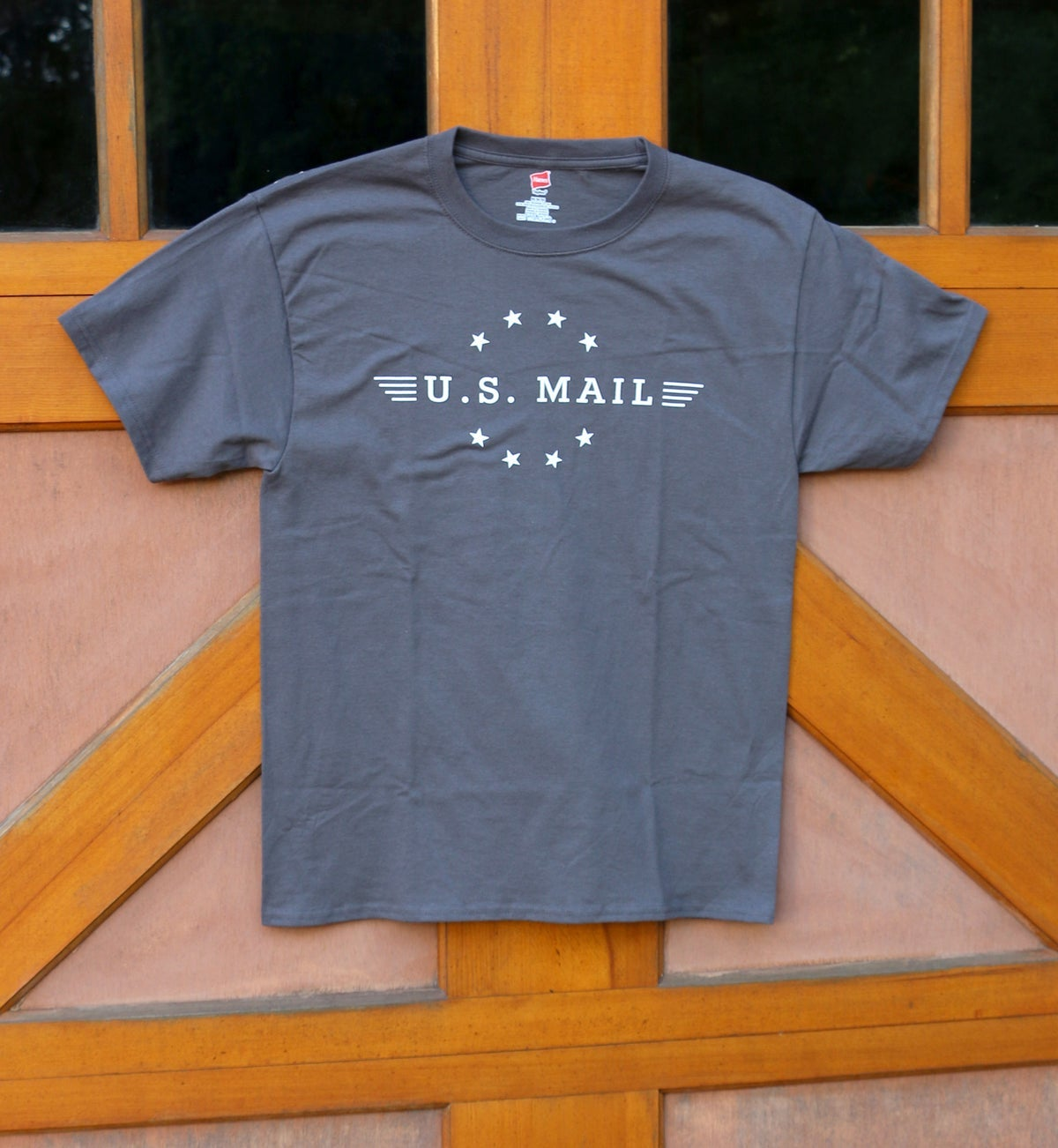 Image of U.S. Mail Tee - Smoke Grey