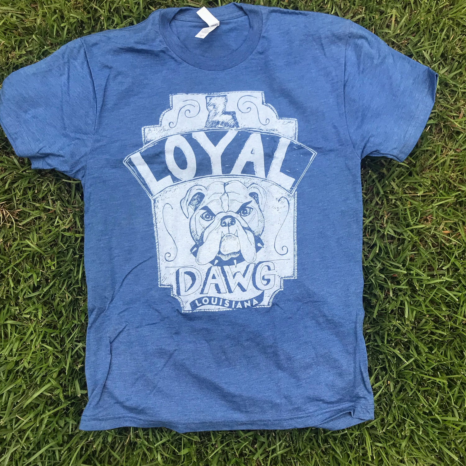 Image of Adult Loyal Dawg Crew Neck Tee
