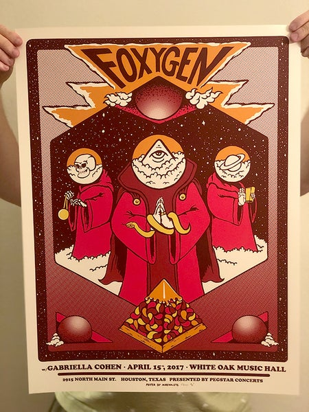 Image of Foxygen Poster