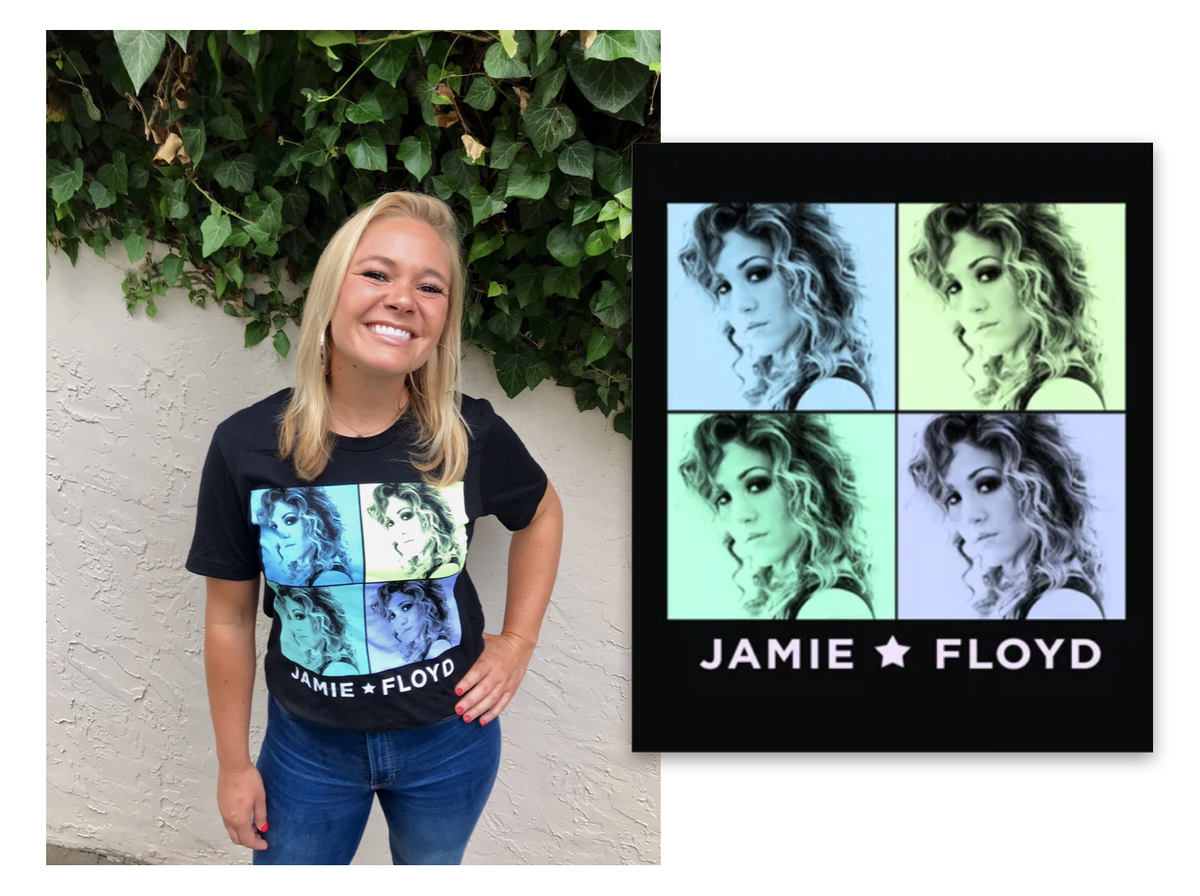 Image of Jamie Floyd * Pop Art Shirt - Limited Edition