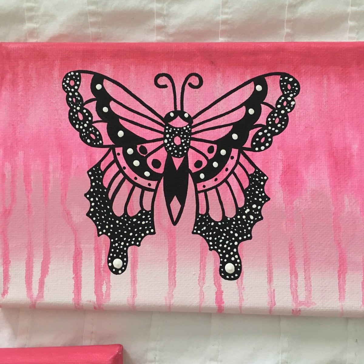 Image of Pink butterfly