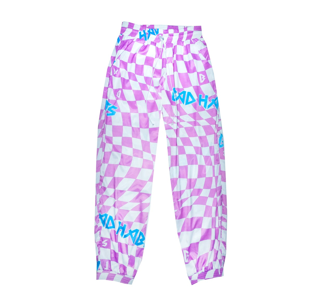 Image of Checkmate track pants - Pink