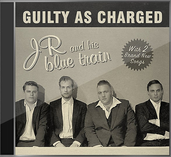 Image of JR and his blue train - Guilty as charged (Album CD)
