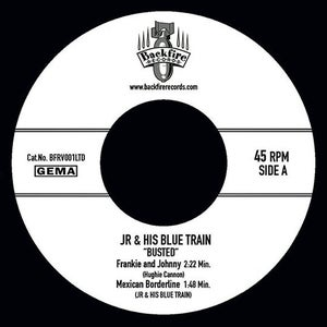 """JR and his blue train - Busted EP (7""""inch single)"""