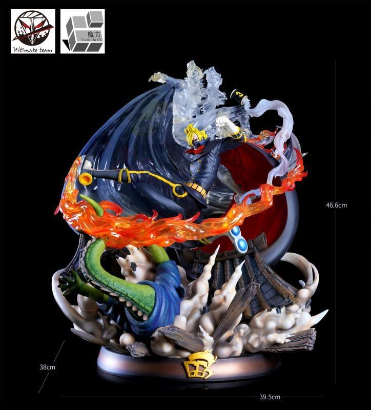 Image of [Pre-Order]One Piece JZ x Magic Cube Studio Germa 66 Sanji Resin Statue