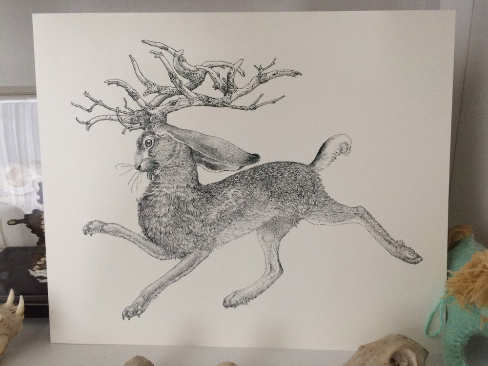Image of The Jackalope print