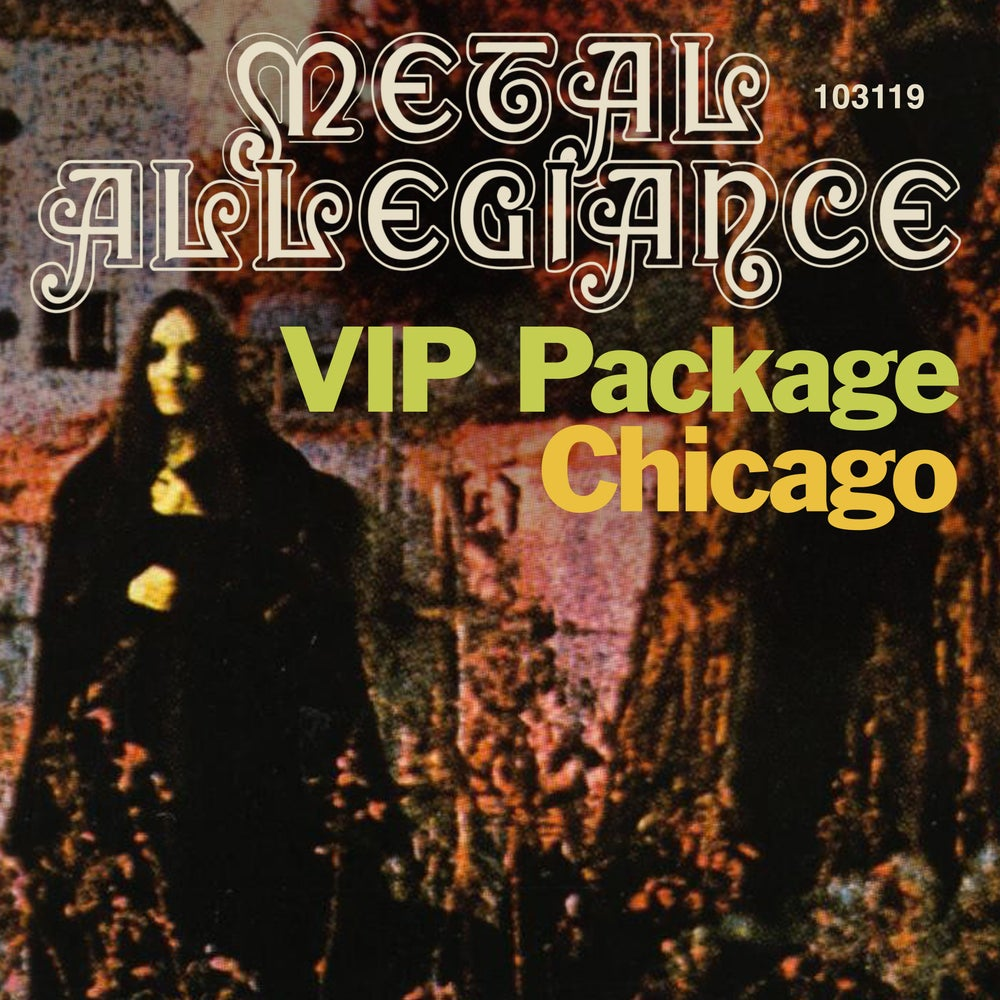 Image of VIP Meet & Greet October 31st Chicago
