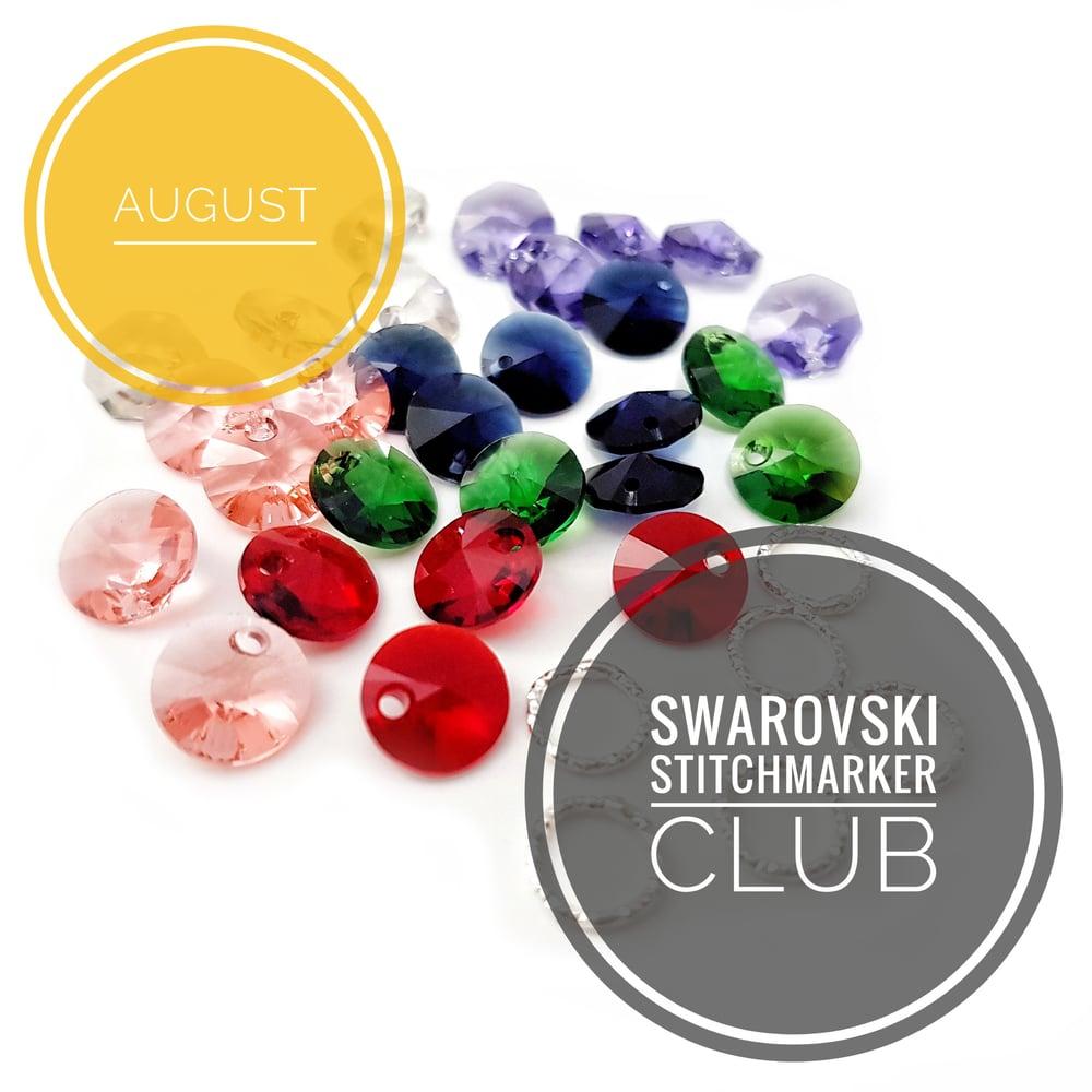Image of SWAROVSKI STITCHMARKER CLUB - AUGUST