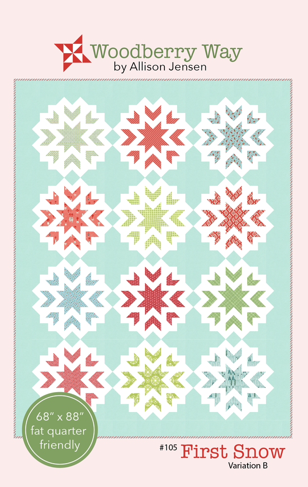 Image of First Snow B PAPER Pattern