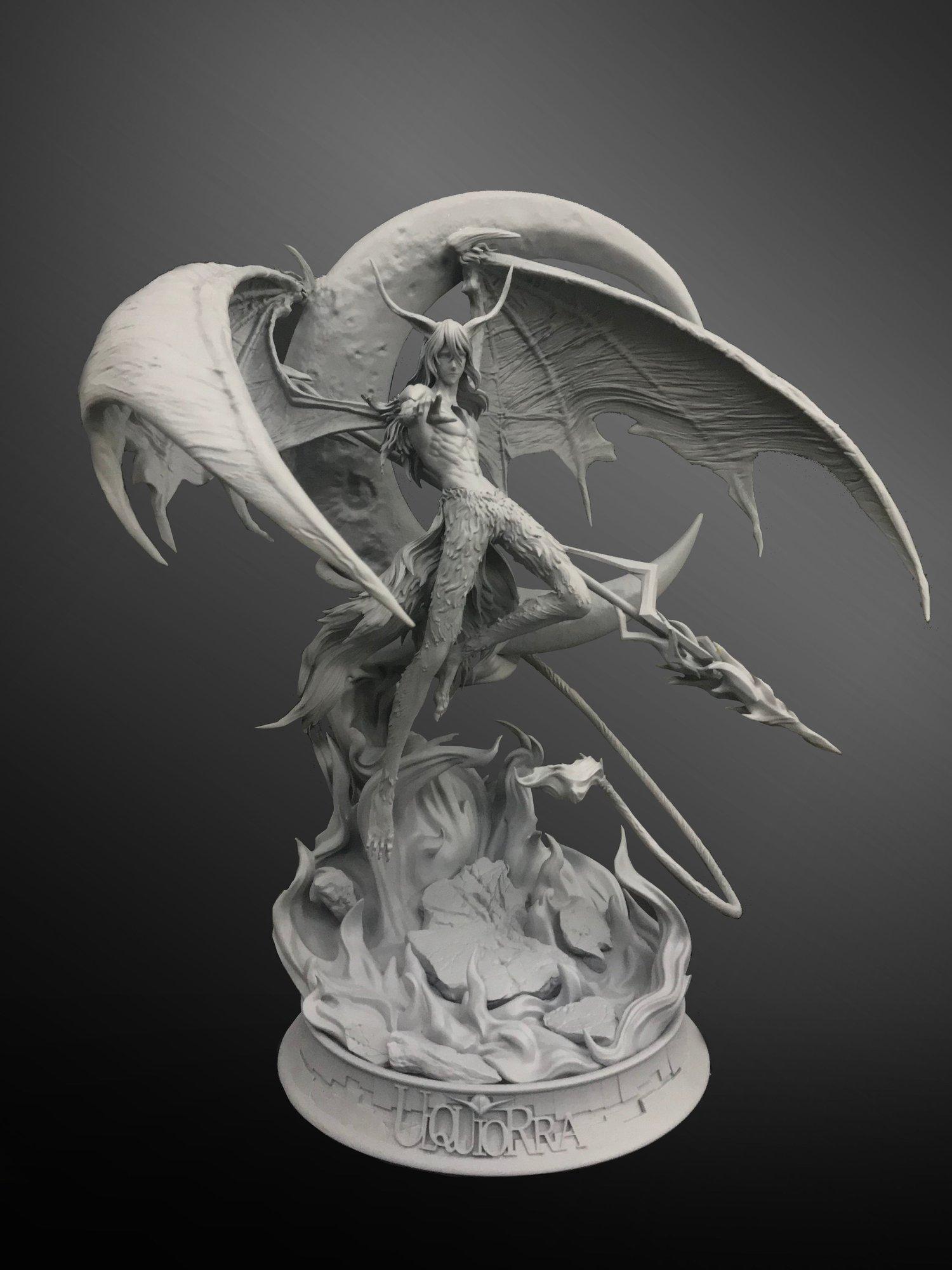 Image of [Pre-Order]Bleach BP x Magic Cube Ulquiorra Resin Statue