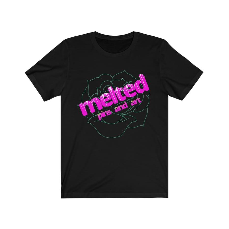 Image of Melted Logo Unisex Tee