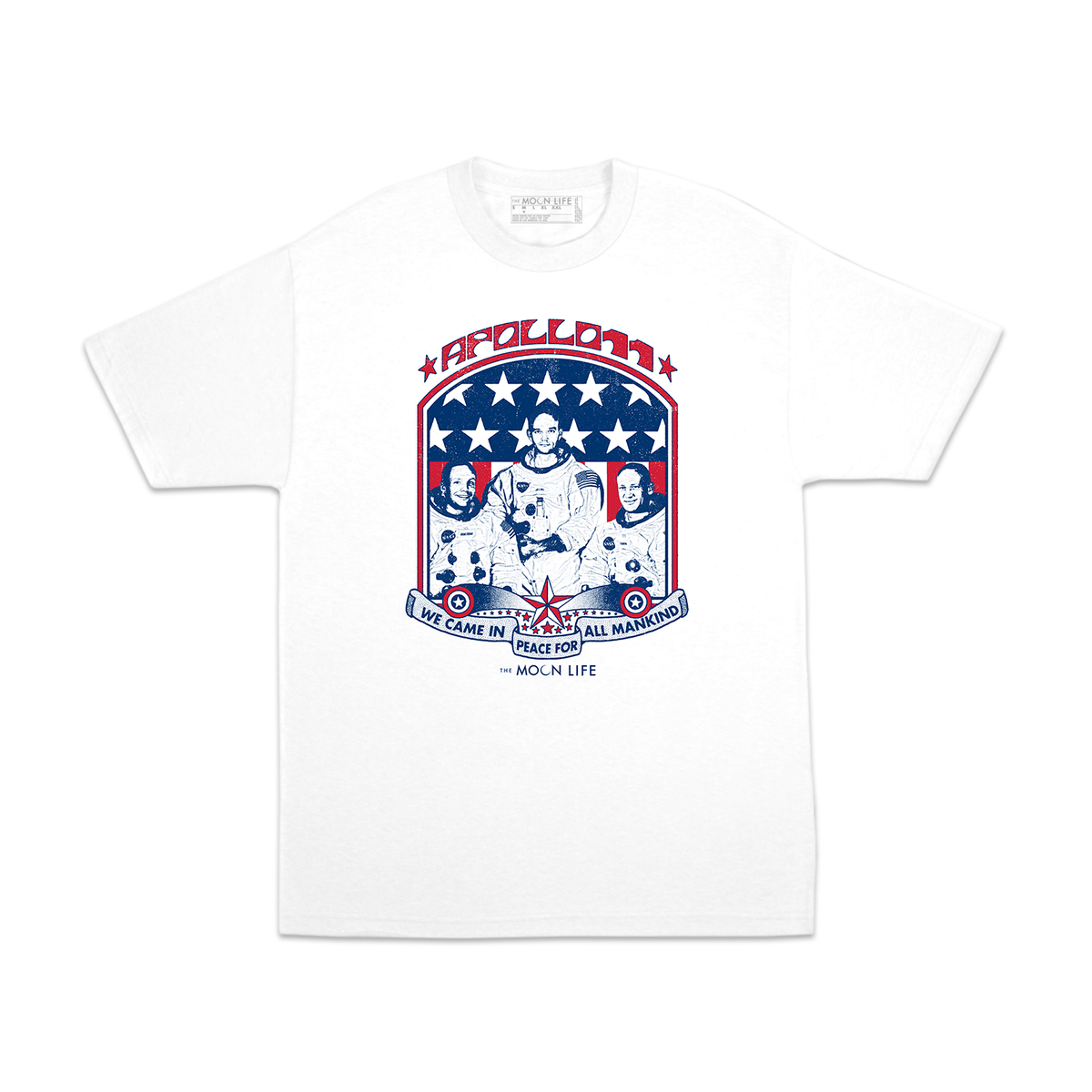 "Image of ""Apollo 11"" • T-shirt • White"