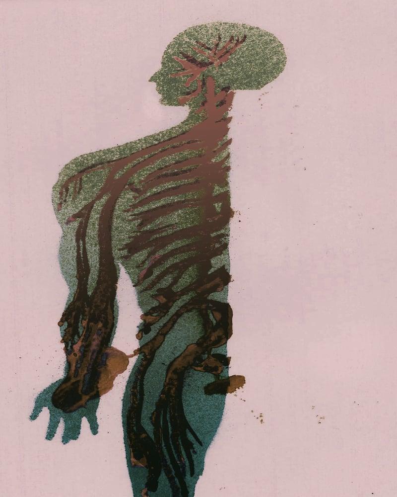 Image of half body