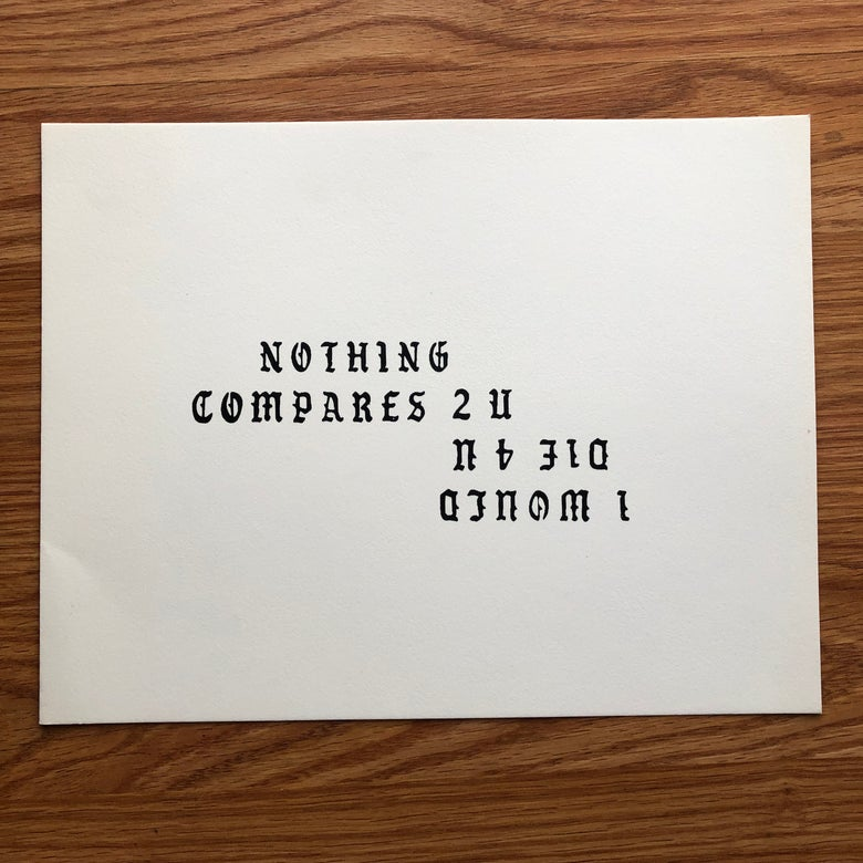 Image of Nothing compares