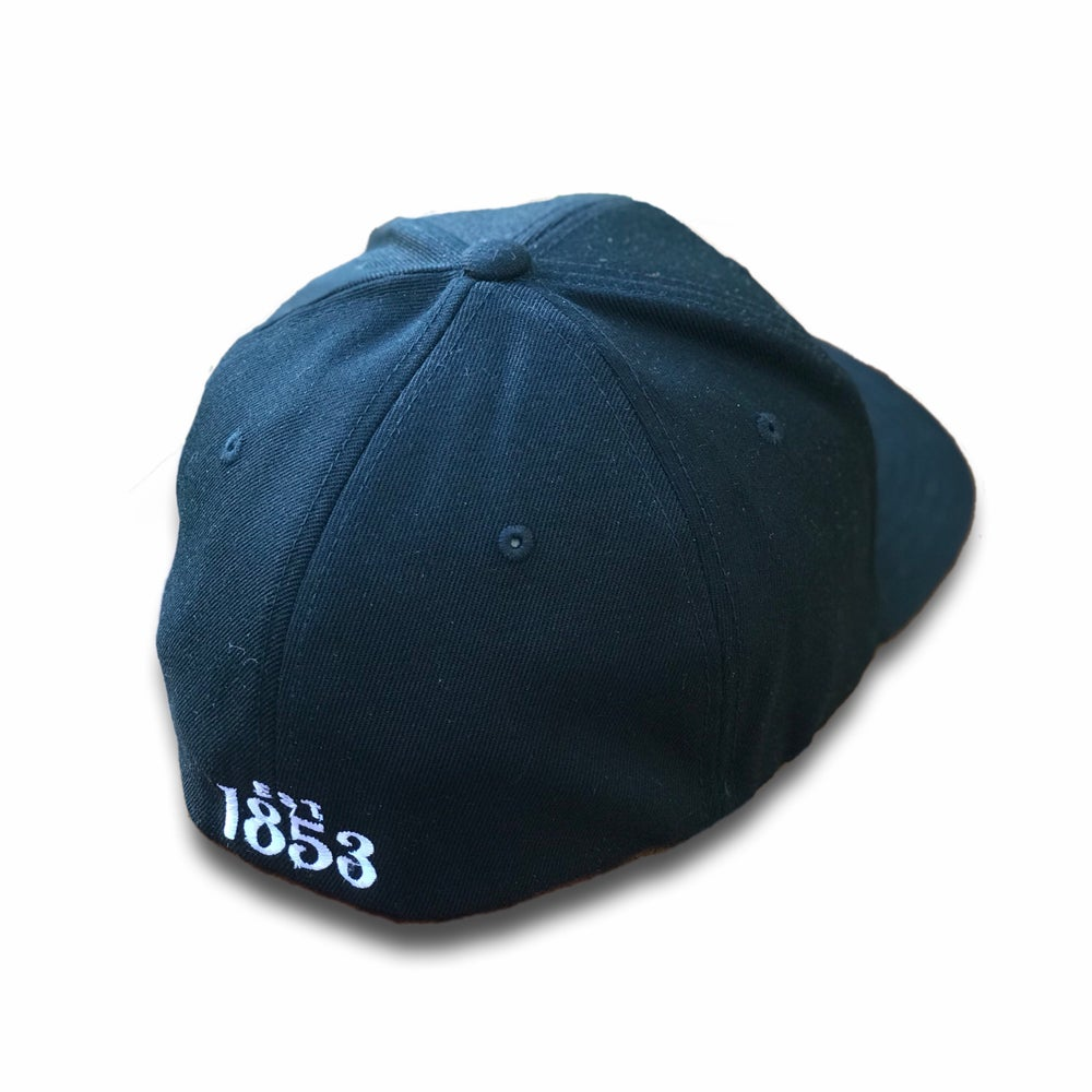 Image of KC Mongram Fitted Hat | Black