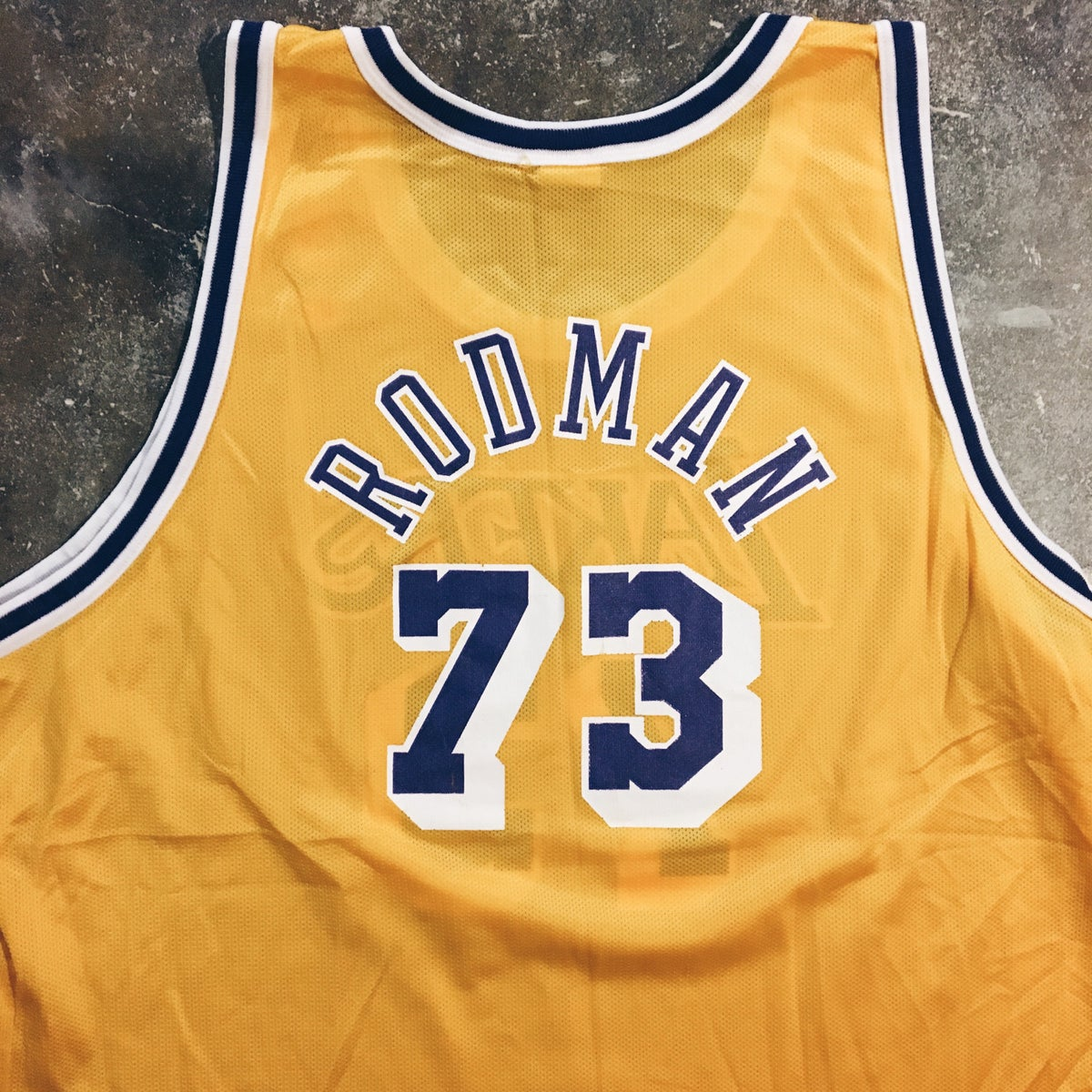 Image of Original 90's Champion Dennis Rodman Champion Jersey.