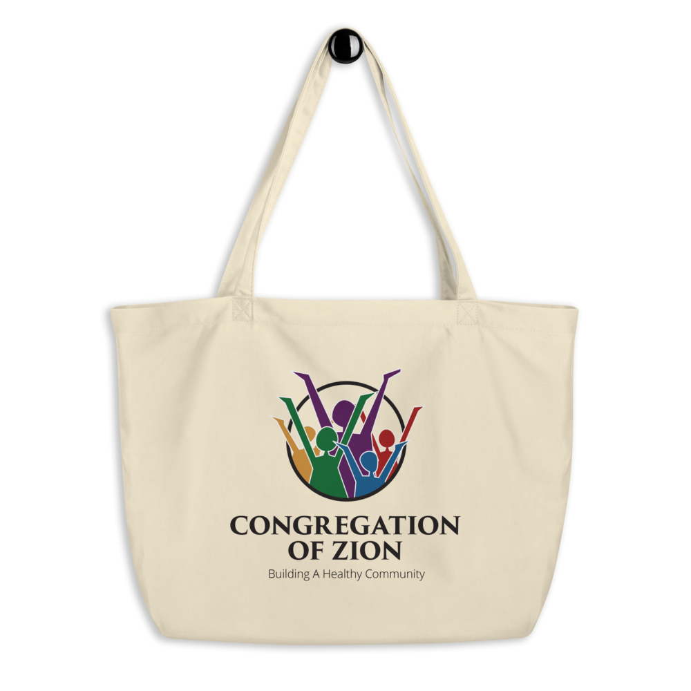 Image of Logo Large Cotton Tote (2 Colors)