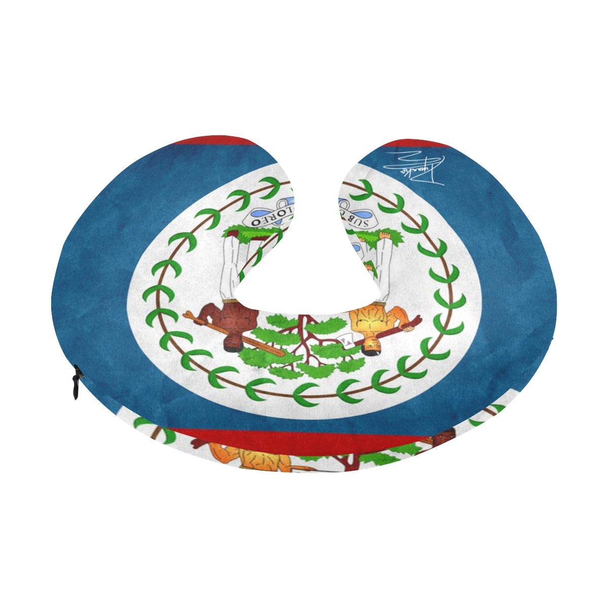 Image of Belize - Travel Pillow U-Shape Travel Pillow