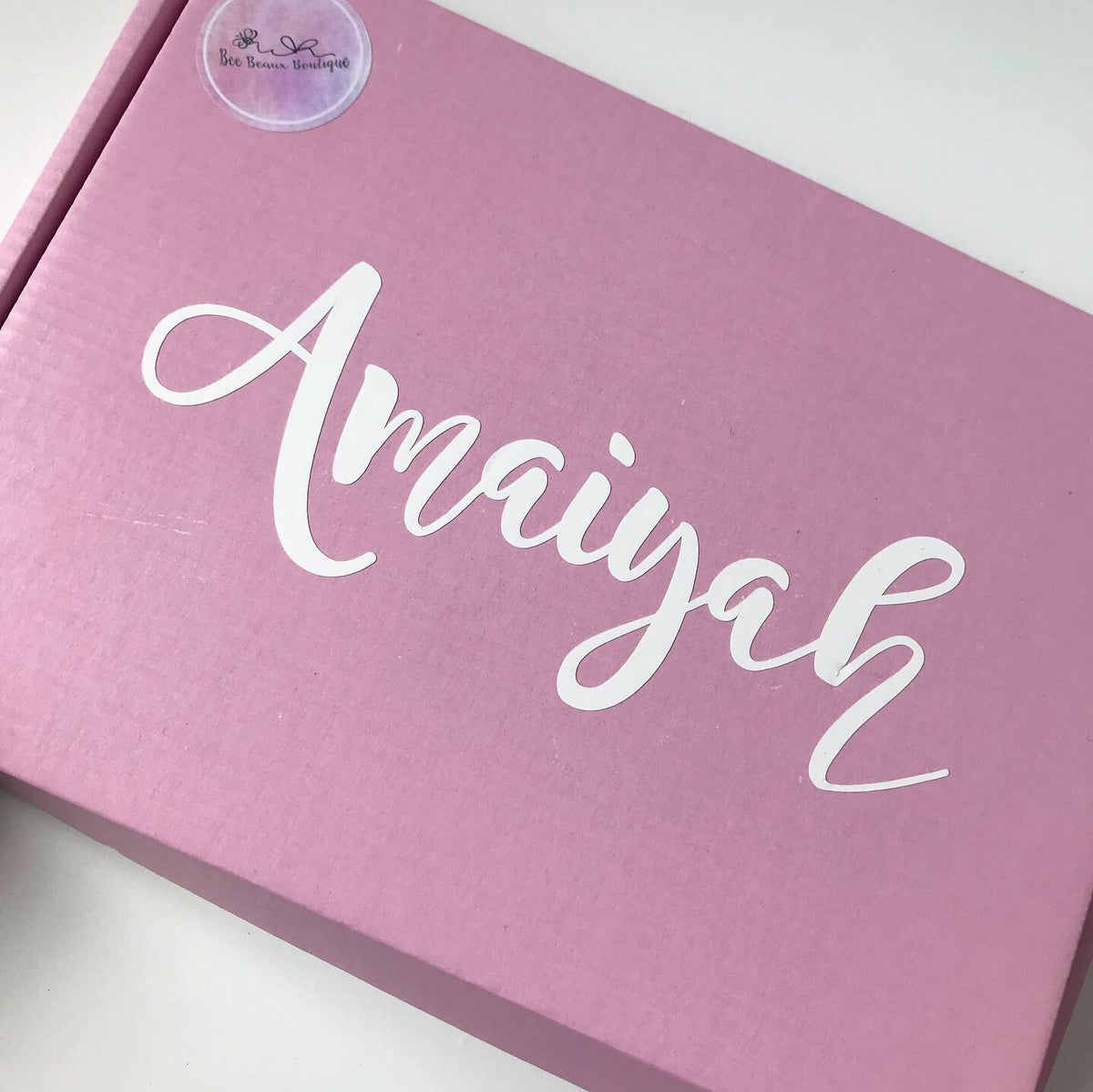 Image of Personalised gift box