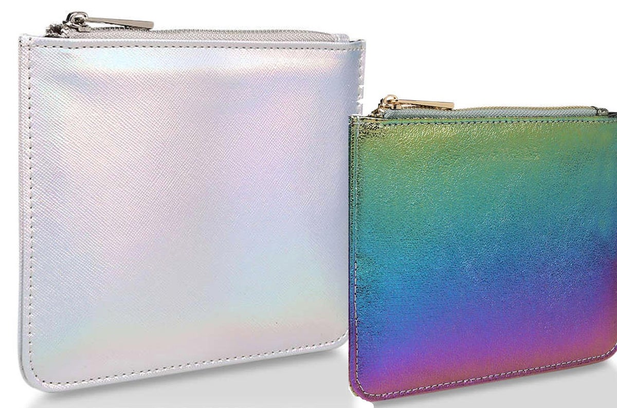 Image of Clutch Pouch in Moonlight or Rainbow. Limited Edition.