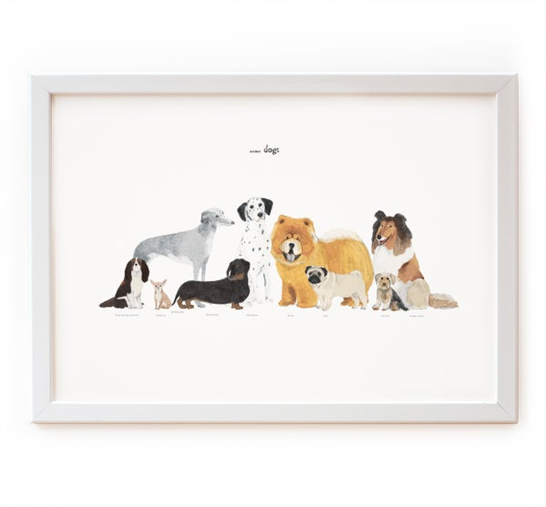 Image of Some Dogs Print