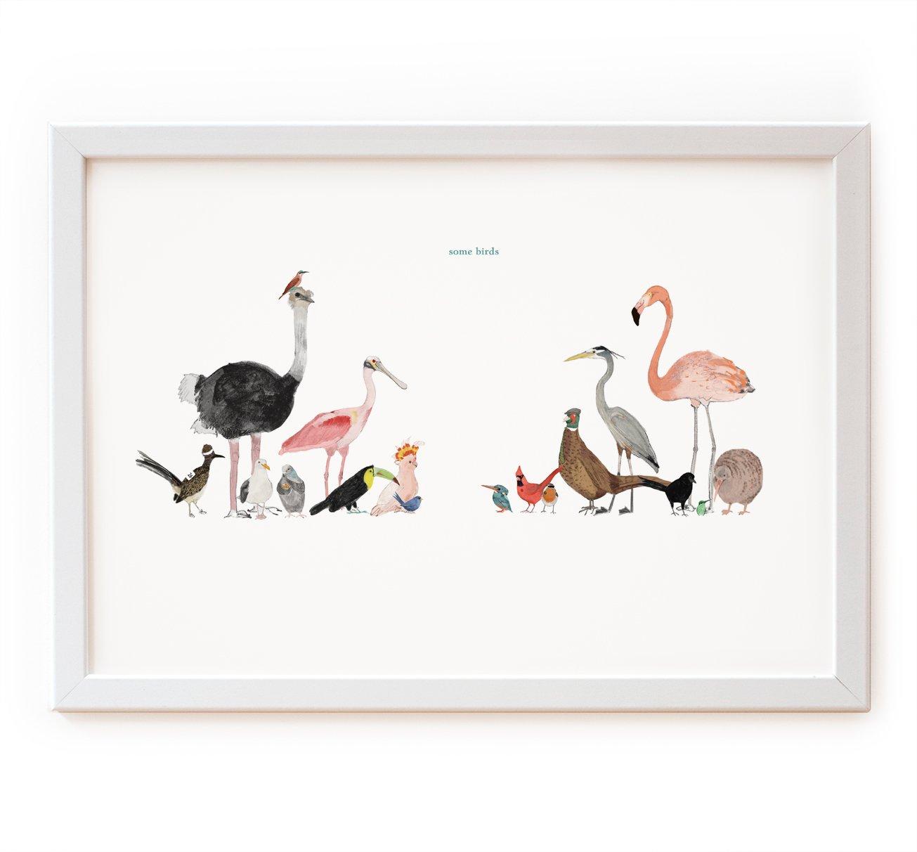Image of Some Birds Print