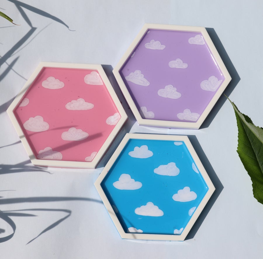 Image of Dreamy Cloud Coasters