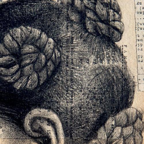 """Image of Paper Art Print - """"ANTSIRANANA"""""""