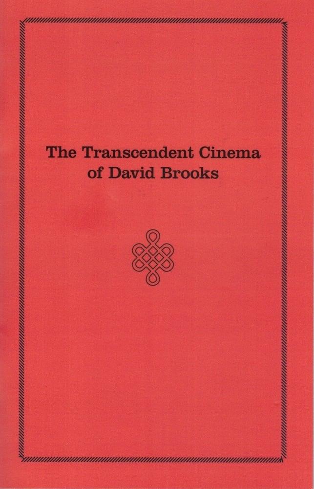 Image of The Transcendent Cinema of David Brooks, edited by John Klacsmann