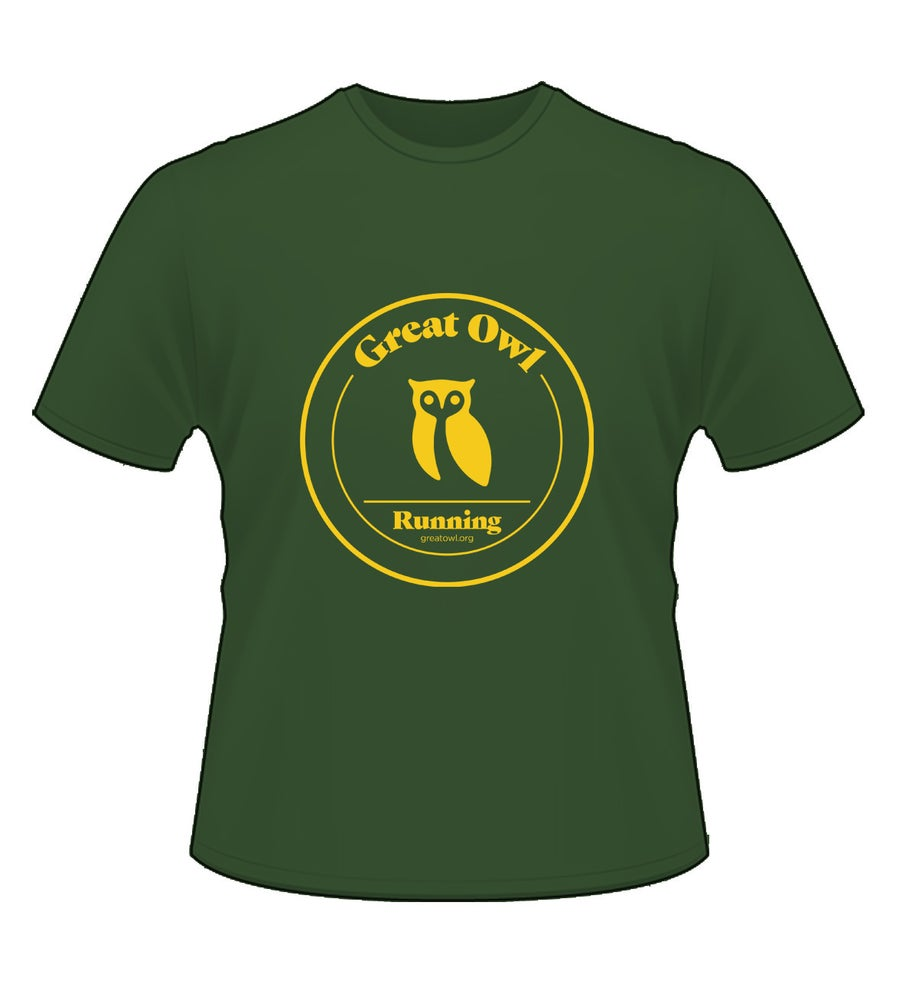 Image of Owl T-Shirt (Green)