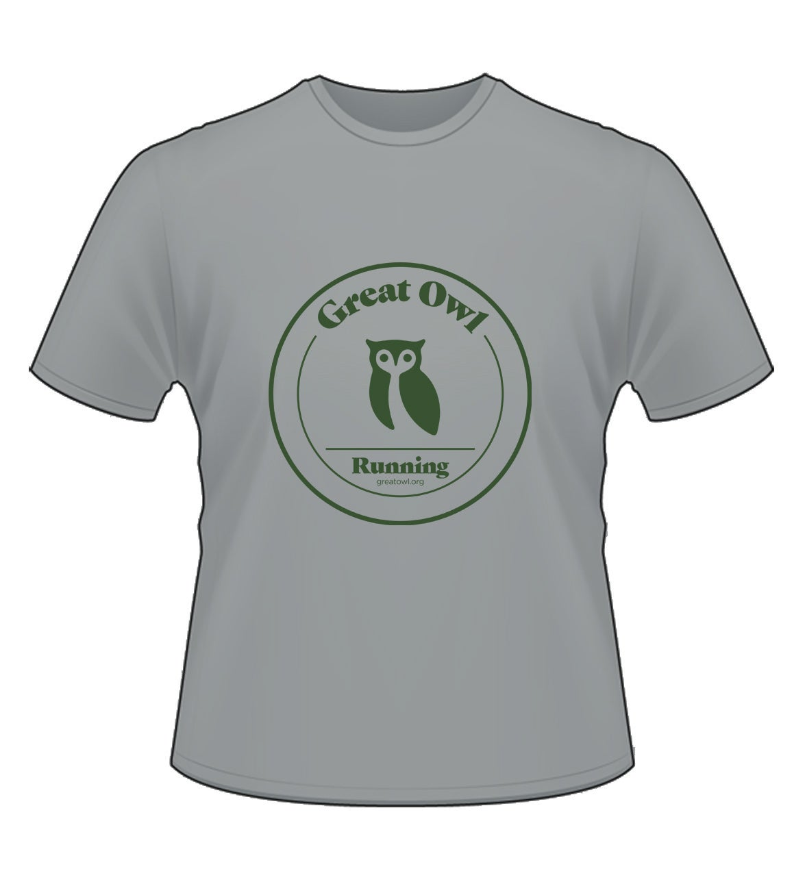 Image of Owl -Shirt (Grey)