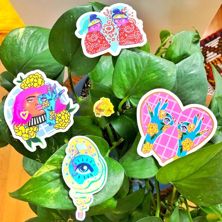 Image of Sticker Pack ♥ 5 Stickers