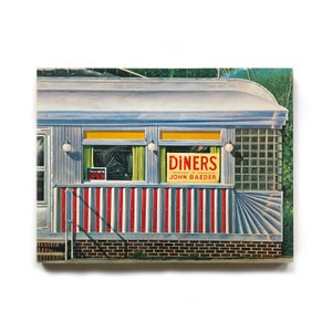 """Image of """"Diners"""" by John Baeder"""