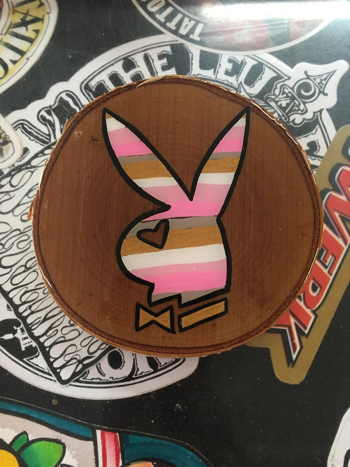 Image of Pink bunny