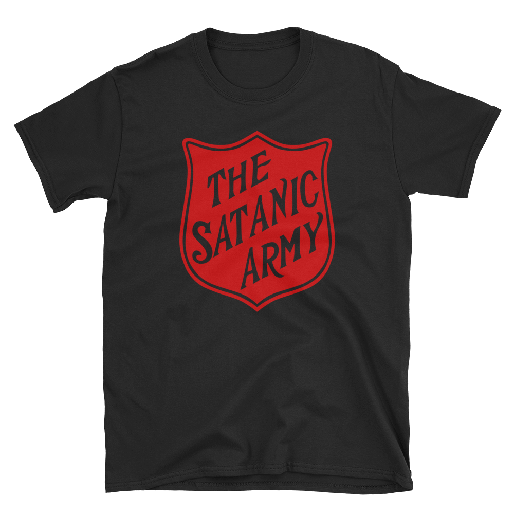 """Image of """"The satanic army"""" T-shirt"""