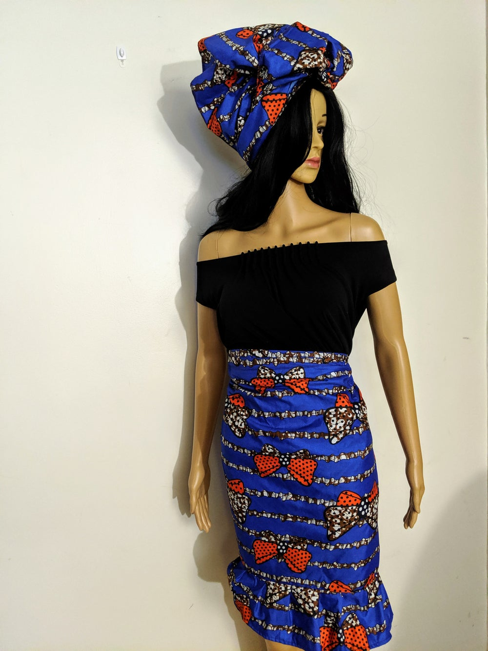 Image of Wemi's Wrap Skirt